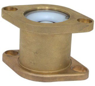 "Webstone 13703HV 3/4"" Or 1"" Or 1-1/4"" Flangedxflanged 150Psi Brass Double Flanged Check Valve"
