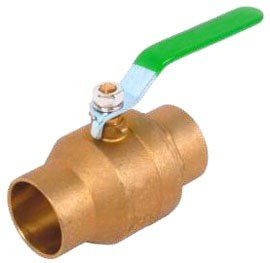 "3/4"" Cxc Lead-Free Brass Ball Valve"
