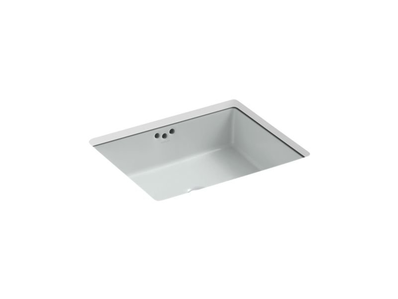 "Kohler K-2330-95 Kathryn 19-3/4"" Under-Mount Bathroom Sink in Ice Grey"