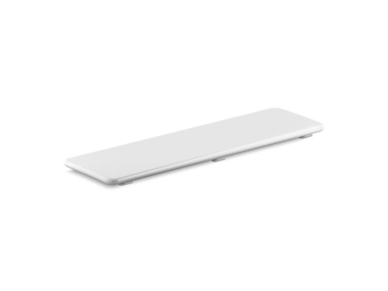 "Kohler K-9155-0 Bellwether Plastic Drain Cover for 60"" X 32"" Shower Base in White"