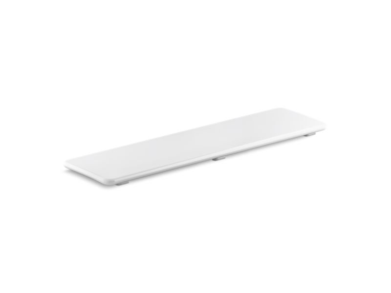 "Kohler K-9157-0 Bellwether Plastic Drain Cover for 60"" X 34"" Shower Base in White"