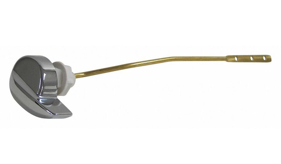 """Kissler 60-1631 9"""" Chrome Brass Toilet Tank Lever Handle And Arm"""