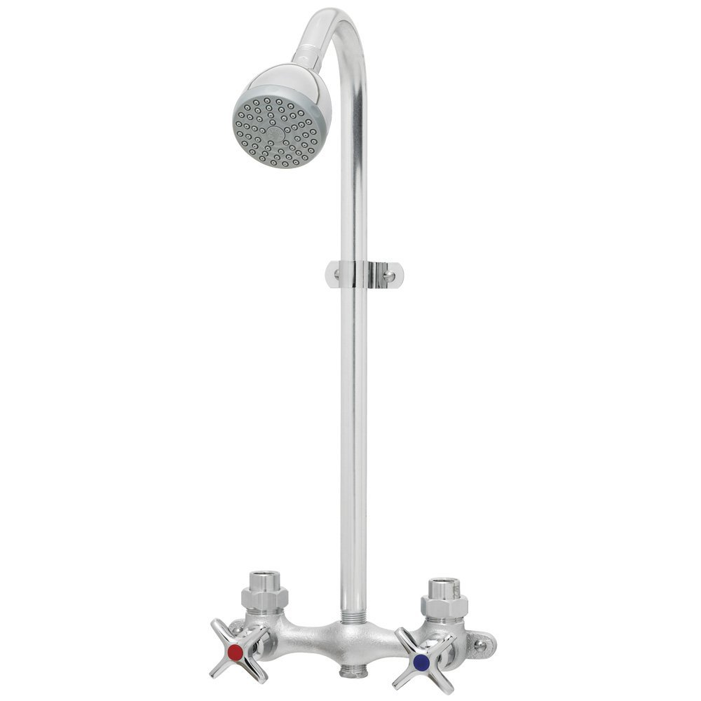Speakman  SC-1220-AF 2Gpm Chrome 2-Cross Handle Shower Faucet