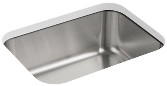 "Sterling Mcallister J11447-NA 23-3/8"" X 17-11/16"" 8"", Stainless Steel, 3-Pack, Under Mount, 1-Bowl, Kitchen Sink"