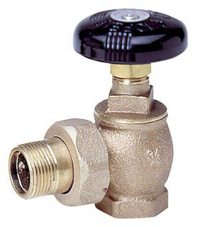 "Watts 67620 1/2"" Nptxmale Union 60Psi Bronze Hot Water Angle Valve"