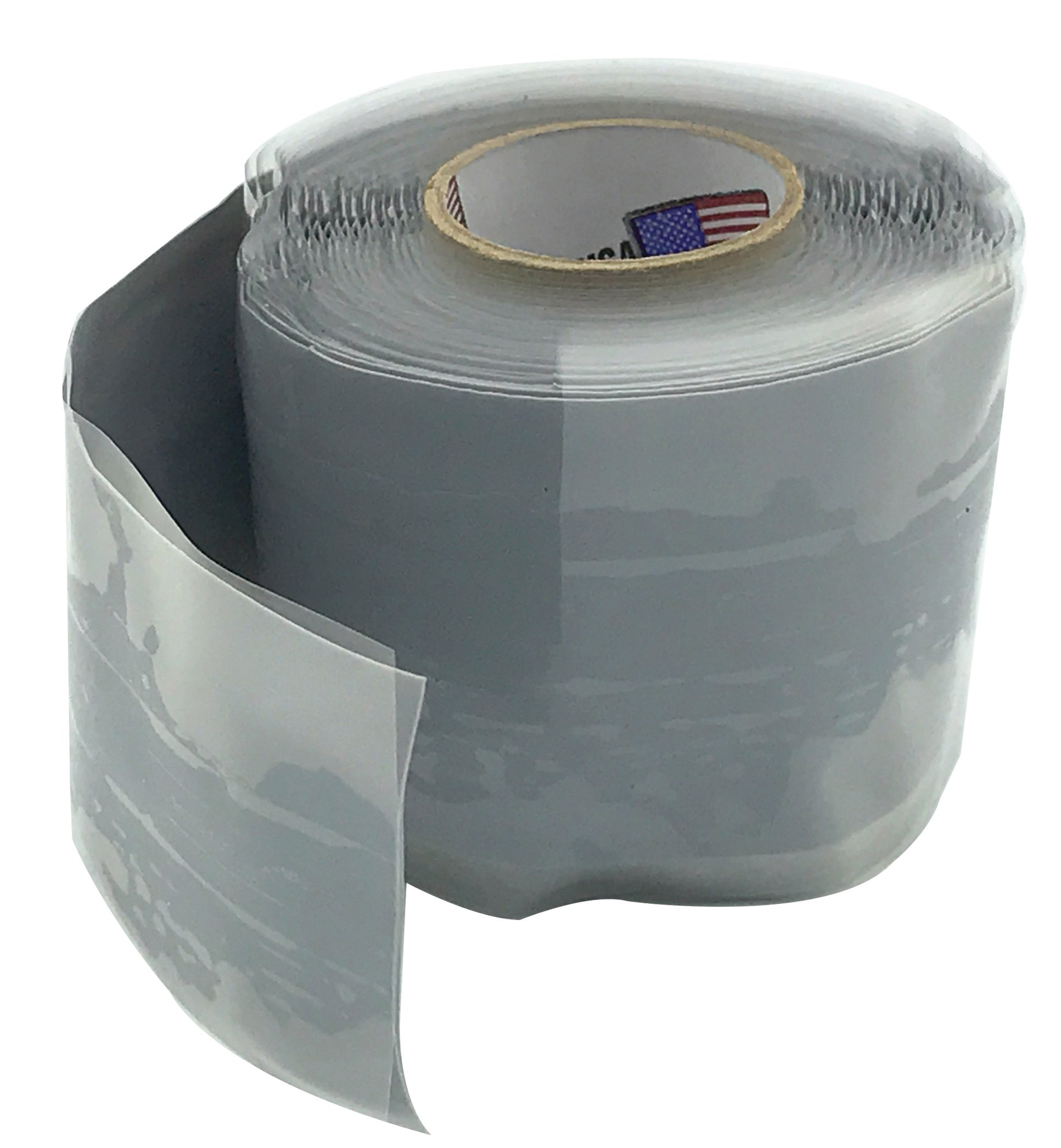 """Walrich 1006002 1-1/2"""" X 10' Silicone Adhesive Industrial Pipe Repair Tape"""