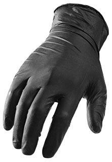 Lift Safety Ni-Flex GNX-1KM M Black Nitrile Hand Gloves