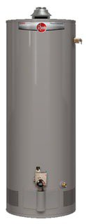 Rheem Professional PROG40-38N RH62 40Gallon Atmospheric Vent Tall Natural Residential Gas Water Heater