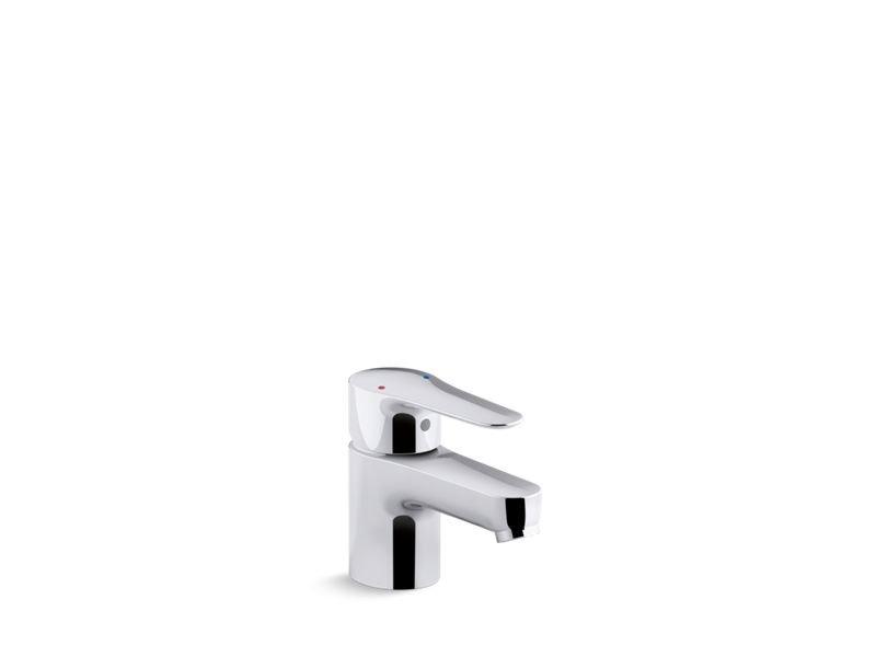 Kohler K-97282-4-CP July Single-Handle Commercial Bathroom Sink Faucet