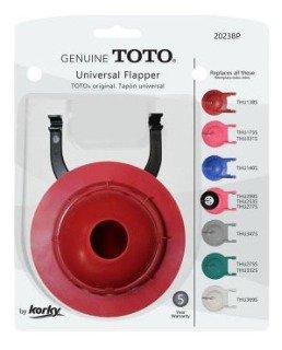 Korky 2023BP Red Rubber Toilet Flapper
