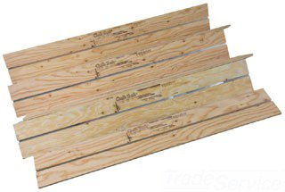 "Uponor A5060761 47.75"" X 6.84"" 1/2"" Plywood Heat Transfer Panel"