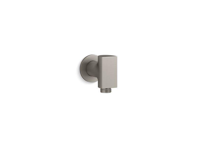 Kohler K-98352-BN Exhale Wall-Mount Supply Elbow in Vibrant Brushed Nickel