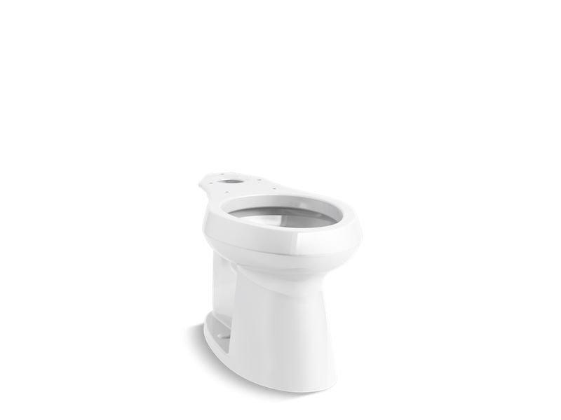 Kohler K-80020-0 Highline Concealed Trapway Comfort Height Elongated Bowl in White