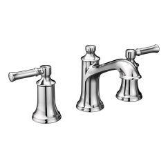 """Moen T6805 Dartmoor 8"""" Widespread Two Handle Bathroom Faucet"""