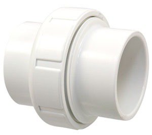 "Fig L171200 1-1/2"" X Slipxslip Pvc Straight Union"