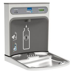 "Elkay Ezh2O LZWSRK 17-7/8"" X 3-9/16"" 18-7/8"" Lead-Free Stainless Steel Bottle Filling Station Retrofit Kit"