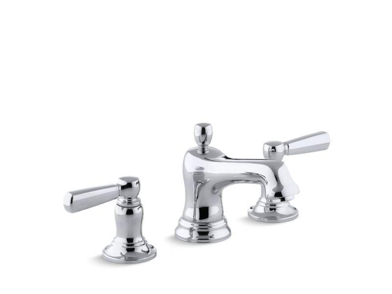 Kohler K-10577-4-CP Bancroft Widespread Bathroom Sink Faucet - Polished Chrome in Polished Chrome