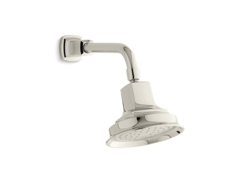 Kohler K-16244-AK-SN Margaux 2.5 GPM Single-Function Showerhead With Katalyst Air-Induction Technology in Vibrant Polished Nickel