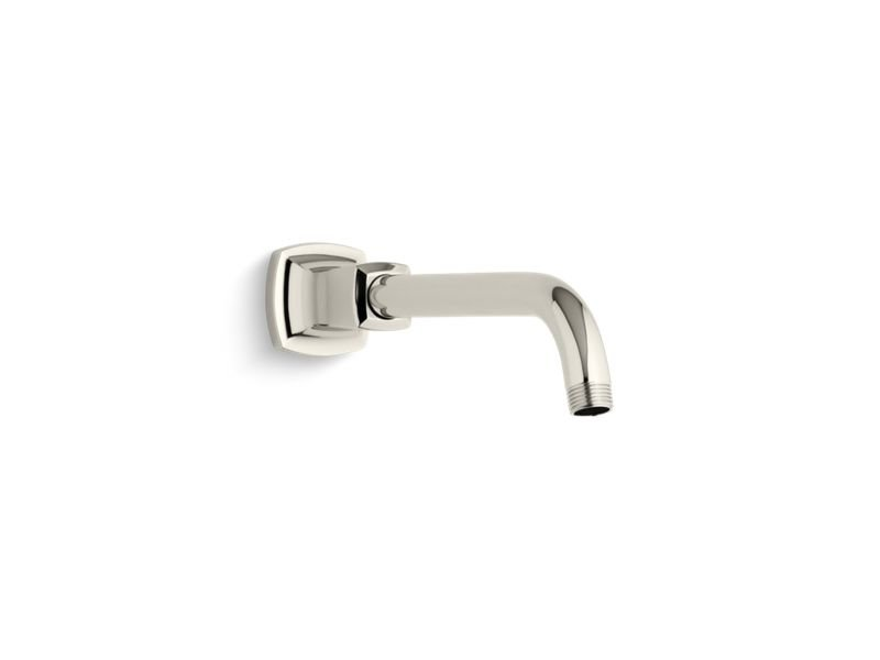Kohler K-16280-SN Margaux Shower Arm And Flange in Vibrant Polished Nickel