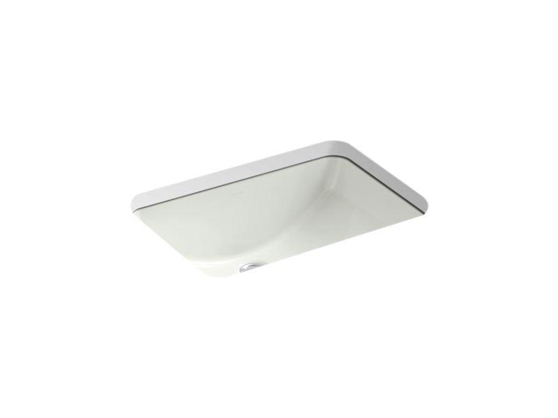 "Kohler K-2214-NY Ladena 20-7/8"" Under-Mount Bathroom Sink in Dune"