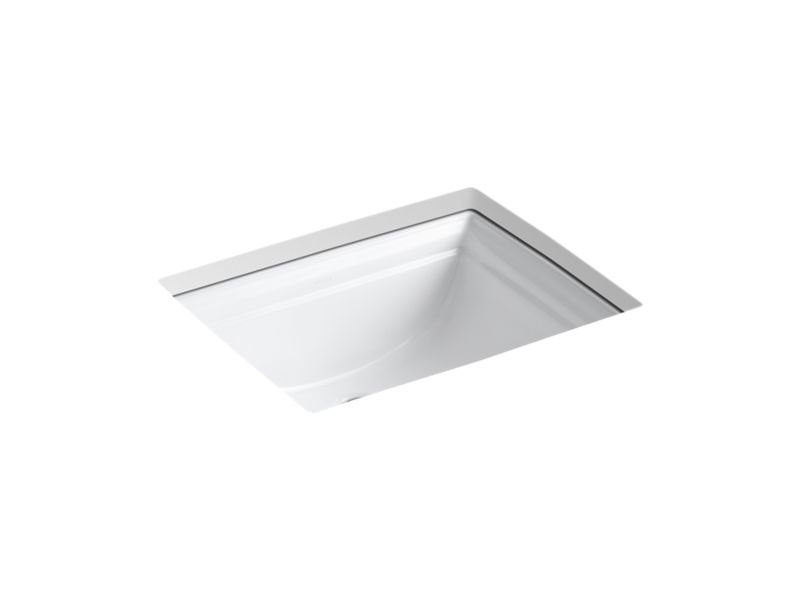 Kohler K-2339-0 Memoirs Under-Mount Bathroom Sink in White