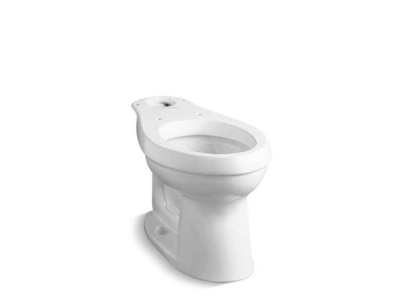 Kohler K-4309-0 Cimarron Comfort Height Elongated Toilet Bowl in White