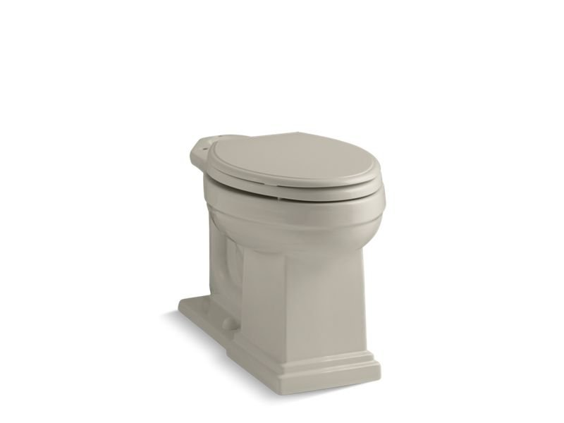Kohler K-4799-G9 Tresham Comfort Height Elongated Bowl in Sandbar