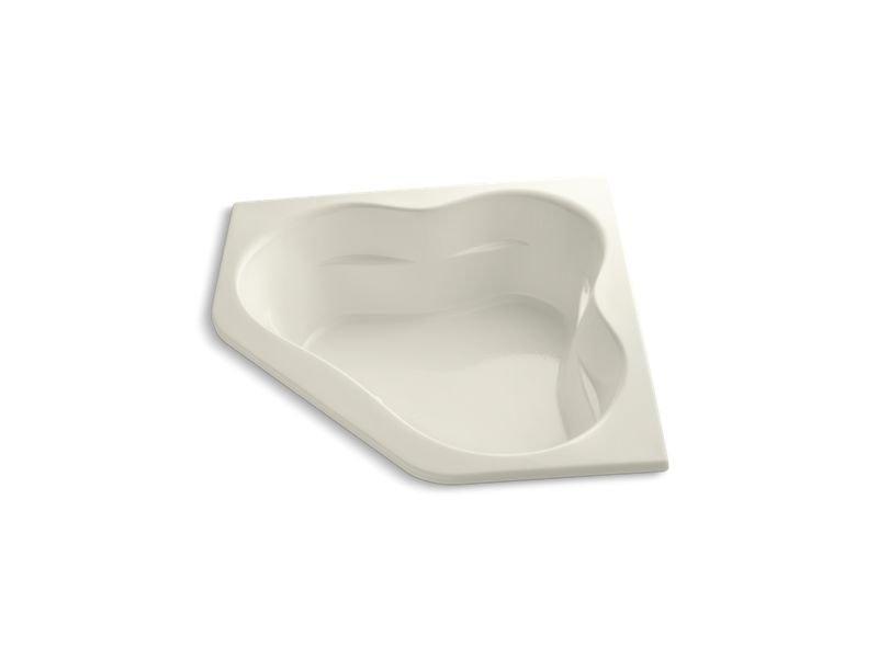 """Kohler K-1161-96 Tercet 60"""" x 60"""" drop-in Bath in Biscuit"""