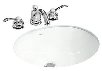 "Sterling Wescott 442050-0 17"" X 15"" 7-7/8"", White, Vitreous China, 1-Bowl, Under Mount, Bathroom Sink"