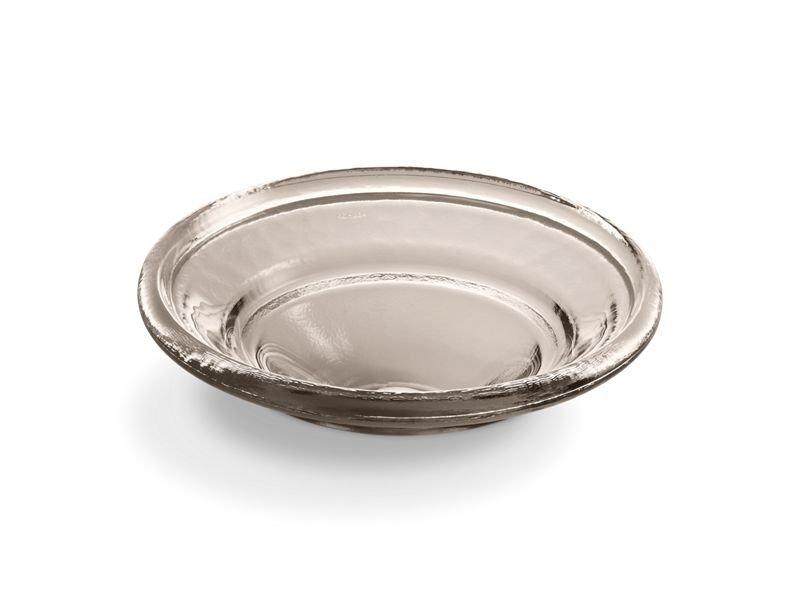 Kohler K-2276-TG3 Spun Glass Vessel Bathroom Sink in Translucent Doe