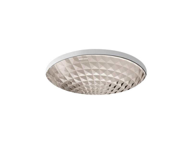 Kohler K-2361-TG3 Kallos Under-Mount Bathroom Sink in Translucent Doe