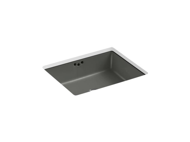 "Kohler K-2330-58 Kathryn 19-3/4"" Under-Mount Bathroom Sink in Thunder Grey"