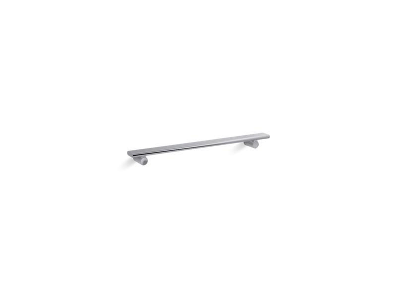 "Kohler K-97625-SHP Choreograph 24"" Shower Barre in Bright Polished Silver"