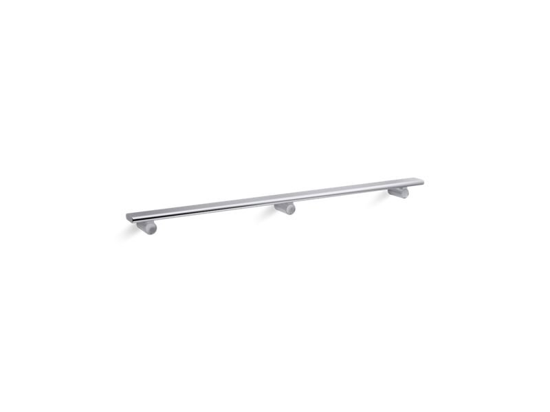 "Kohler K-97626-SHP Choreograph 36"" Shower Barre in Bright Polished Silver"