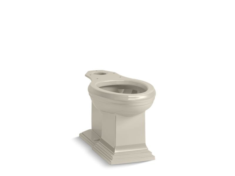 Kohler K-5626-G9 Memoirs Comfort Height Elongated Toilet Bowl with Concealed Trapway in Sandbar